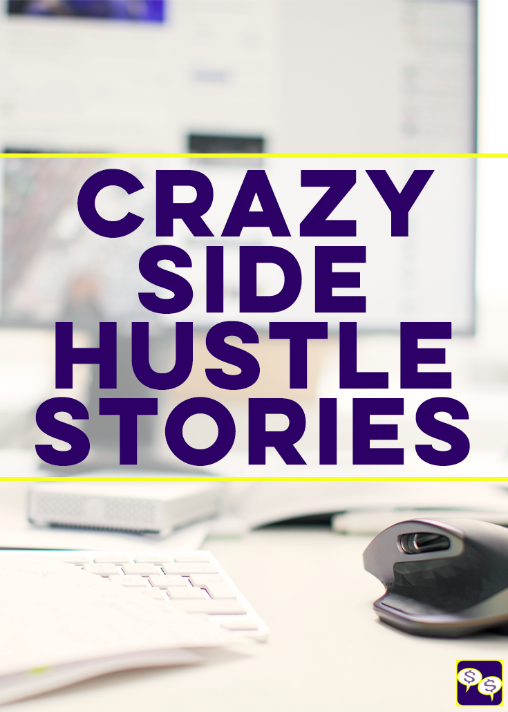 Want to hear the most outrageous things we've done for money? Then you don't want to miss this podcast episode featuring our crazy side hustle stories.