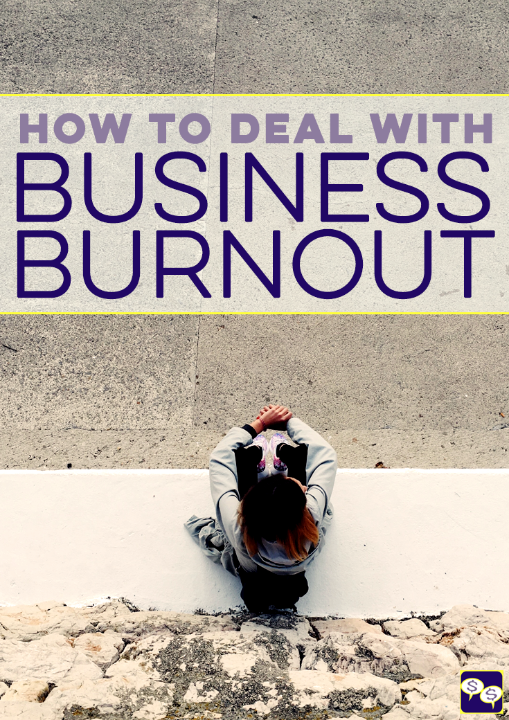 Dealing with business burnout is inevitable when you're an entrepreneur. We've all gone through it at some point. Here are our best tips on how to cope.