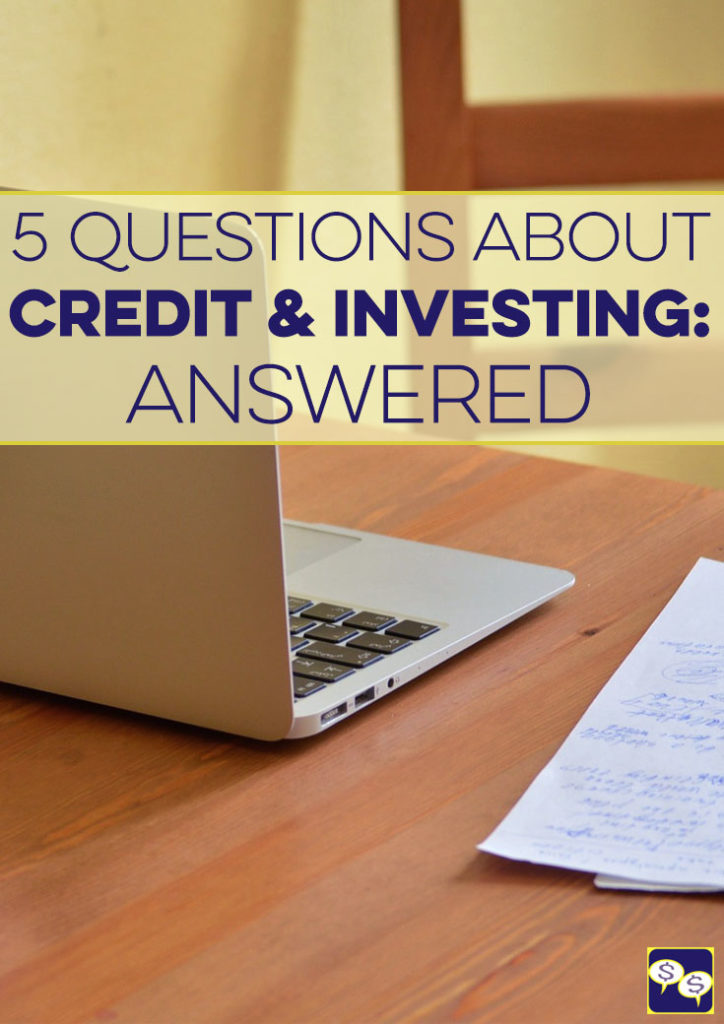 Everything you wanted to know about credit and investing but were too afraid to ask answered here.