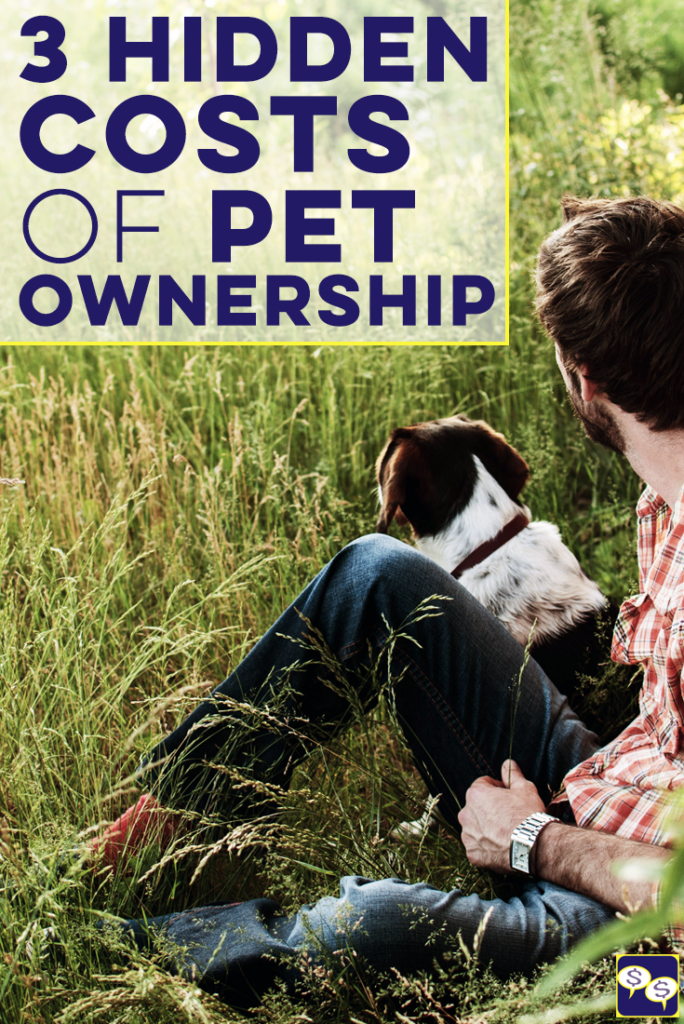 We all love our pets, but there are a few hidden costs of pet ownership that you should be aware of before you adopt. Here are three we've encountered!