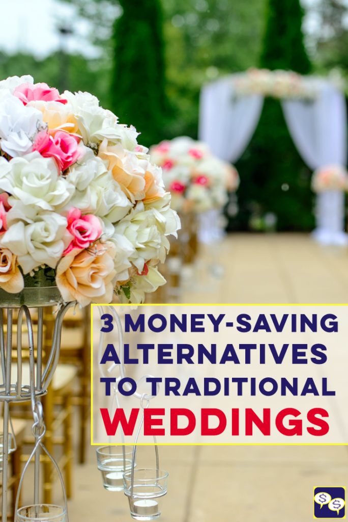 Having a non-traditional wedding is perfect for couples who like to think outside the box and do things differently. Plus, it can save you a lot of money! Here are 3 alternatives to traditional weddings.