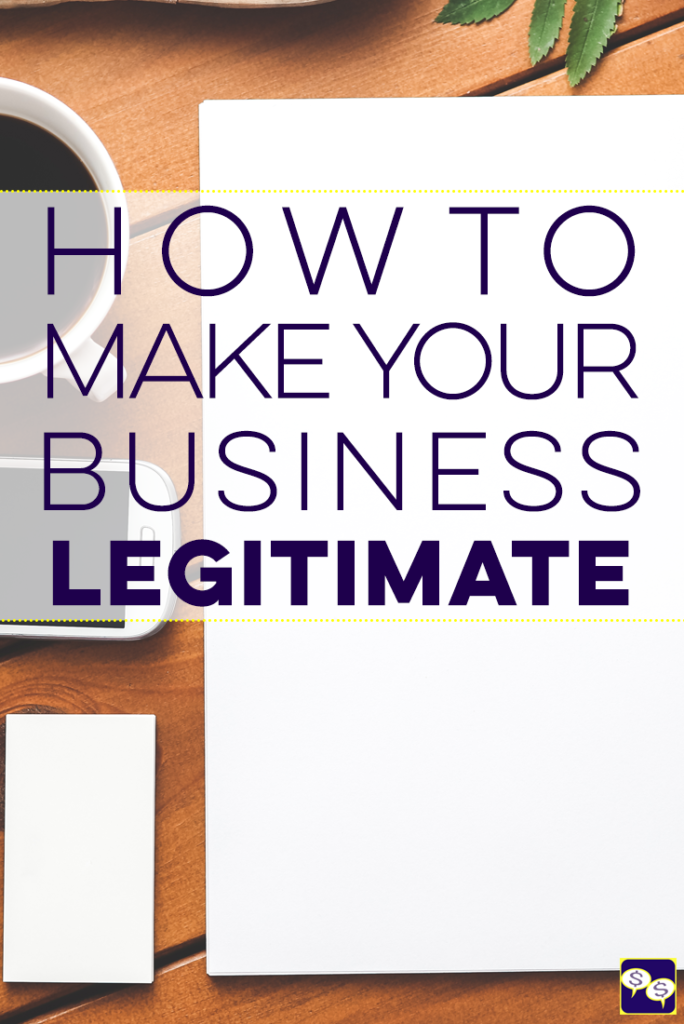 Do you want to know how to legitimize a business? Believe it or not, you don't always need to be an LLC or Corporation to accomplish legitimacy.