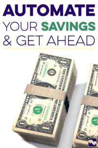 Have trouble saving money or just want to boost your savings rate? Check out our podcast episode on how and why you should try automating your savings.