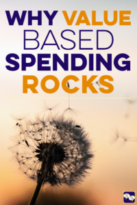 Why value based spending makes it easy to save money